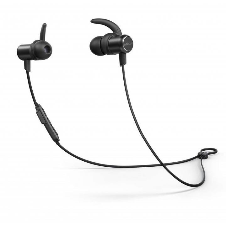 Anker SoundBuds Slim Bluetoothイヤホン IPX7防水 ブラック【8月上旬】_0