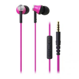 オーディオテクニカ iPod/iPhone/iPad専用イヤホン ピンク