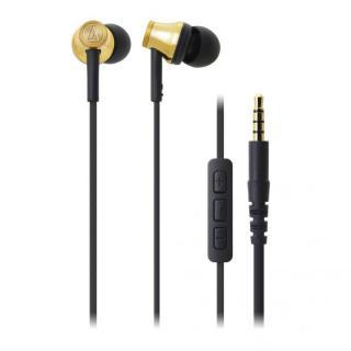オーディオテクニカ iPod/iPhone/iPad専用イヤホン ゴールド