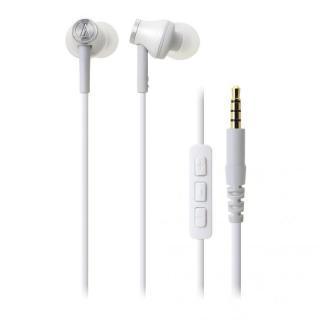 オーディオテクニカ iPod/iPhone/iPad専用イヤホン ホワイト