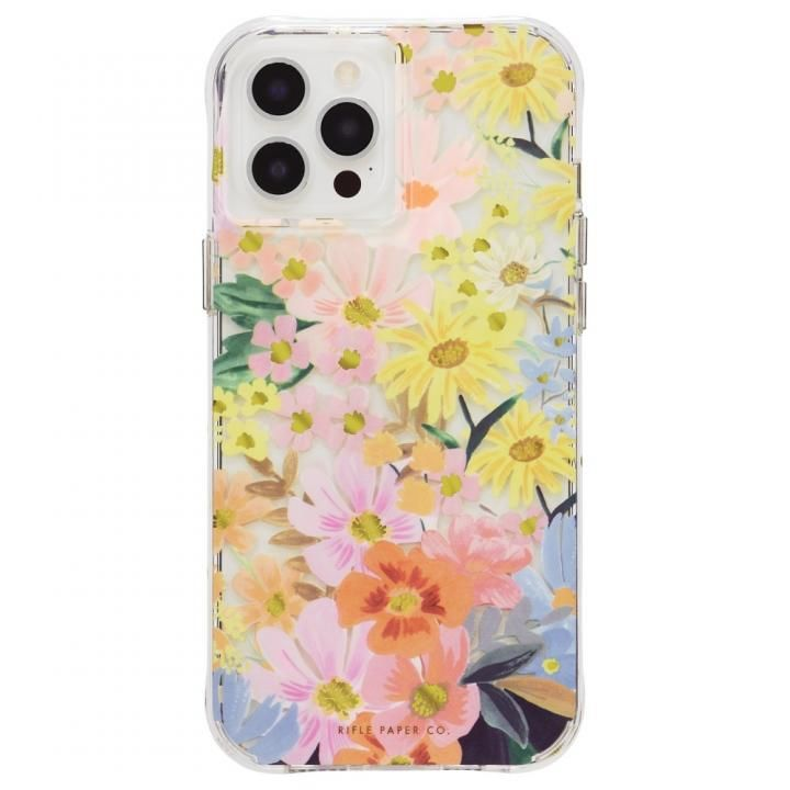 Rifle Paper Co. 抗菌・耐衝撃ケース Marguerite for iPhone 12 Pro Max_0