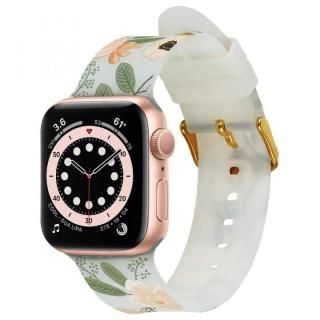 Rifle Paper Co. Apple Watch バンド Wildflowers for Series 1-6、SE 42-44mm