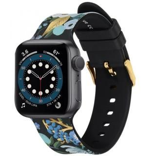 Rifle Paper Co. Apple Watch バンド Garden Party Blue for Series 1-6、SE 42-44mm