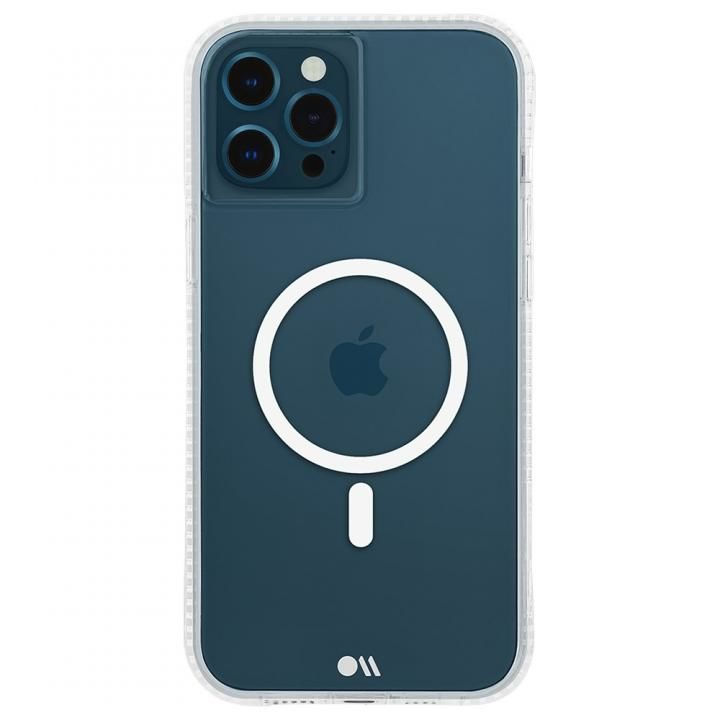 Case-Mate MagSafe対応・抗菌・耐衝撃ケース Tough Clear Plus iPhone 12 Pro Max_0