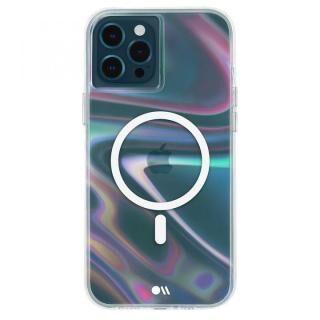iPhone 12 Pro Max (6.7インチ) ケース Case-Mate MagSafe対応・抗菌・耐衝撃ケース Soap Bubble iPhone 12 Pro Max【5月下旬】