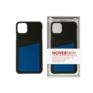 iPhone 11 Pro Max ケース HoverSkin フルカーボンケース ステルスブラックwithサフィアーノ ブルー iPhone 11 Pro Max