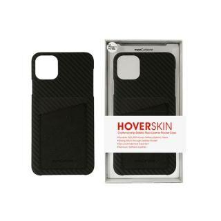 iPhone 11 Pro Max ケース HoverSkin フルカーボンケース ステルスブラックwithサフィアーノ ブラック iPhone 11 Pro Max