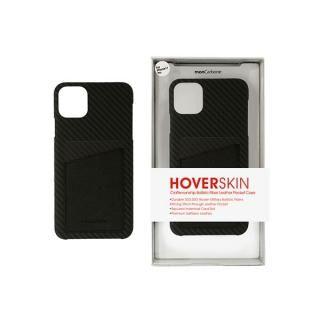 iPhone 11 ケース HoverSkin フルカーボンケース ステルスブラックwithサフィアーノ ブラック iPhone 11