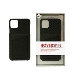 iPhone 11 Pro ケース HoverSkin フルカーボンケース ステルスブラックwithサフィアーノ ブラック iPhone 11 Pro