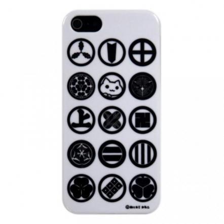 iPhone5 にゃいふぉんケース にゃいみょう黒