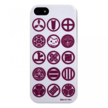 【iPhone SE/5s/5ケース】iPhone5 にゃいふぉんケース にゃいみょう桃