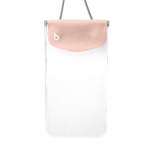 iPhone6/SE/5s/5 ケース bikit スマートフォン用ファッション防水ポーチ カジュアル ピーチ_0