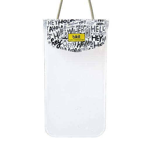 iPhone6/SE/5s/5 ケース bikit スマートフォン用ファッション防水ポーチ カジュアル レター_0