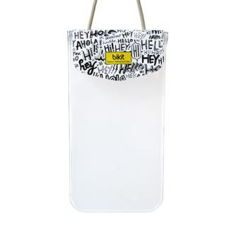 【iPhone SE ケース】bikit スマートフォン用ファッション防水ポーチ カジュアル レター