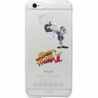 ストリートファイターII クリアハードケース 百裂脚・春麗 iPhone 6