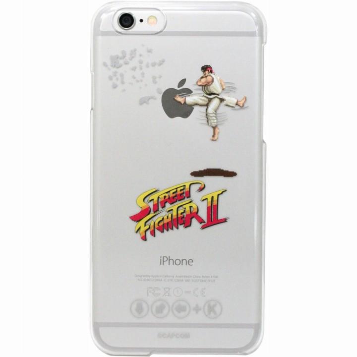 iPhone6 ケース ストリートファイターII クリアハードケース 竜巻旋風脚・リュウ iPhone 6_0