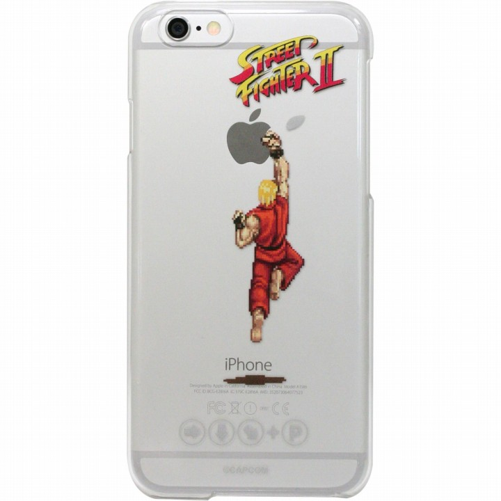 ストリートファイターII クリアハードケース 昇龍拳・ケン iPhone 6