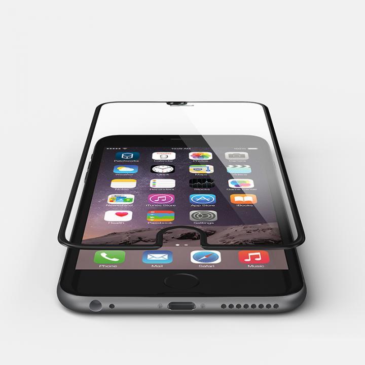 iPhone6s/6 フィルム [0.4mm]液晶画面全面保護 強化ガラス PATCHWORKS ITG Edge ブラック iPhone 6s/6_0