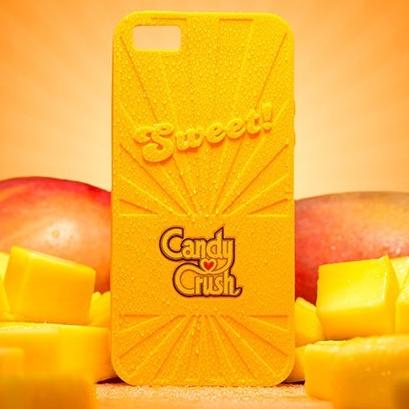 【iPhone6ケース】キャンディークラッシュ 香り付ケース マンゴー iPhone 6_0