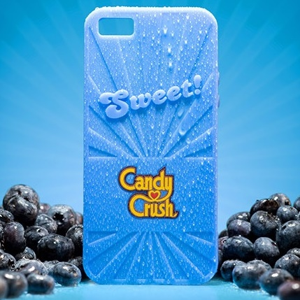 iPhone6 ケース キャンディークラッシュ 香り付ケース ブルーベリー iPhone 6_0