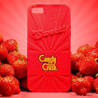 【iPhone6ケース】キャンディークラッシュ 香り付ケース ストロベリー iPhone 6_0