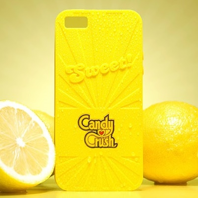 【iPhone6ケース】キャンディークラッシュ 香り付ケース レモン iPhone 6_0