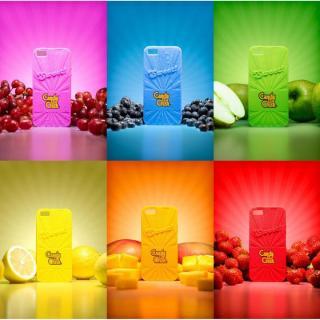 【iPhone6ケース】キャンディークラッシュ 香り付ケース レモン iPhone 6_2