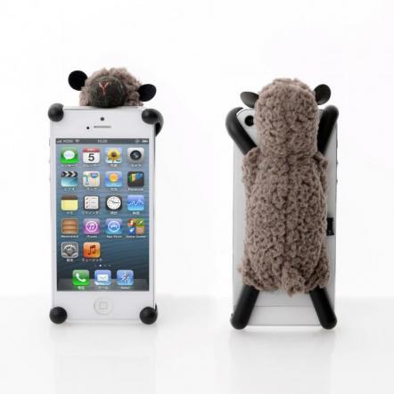 simasima SHEEPY5 iPhone SE/5s/5/5c対応 ブラウン
