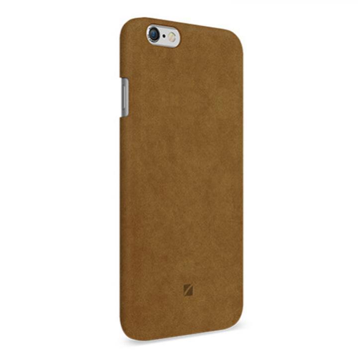 iPhone6 ケース アルカンターラ使用 Moodz Touch キャメル iPhone 6_0