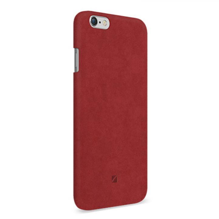 iPhone6 ケース アルカンターラ使用 Moodz Touch レッド iPhone 6_0