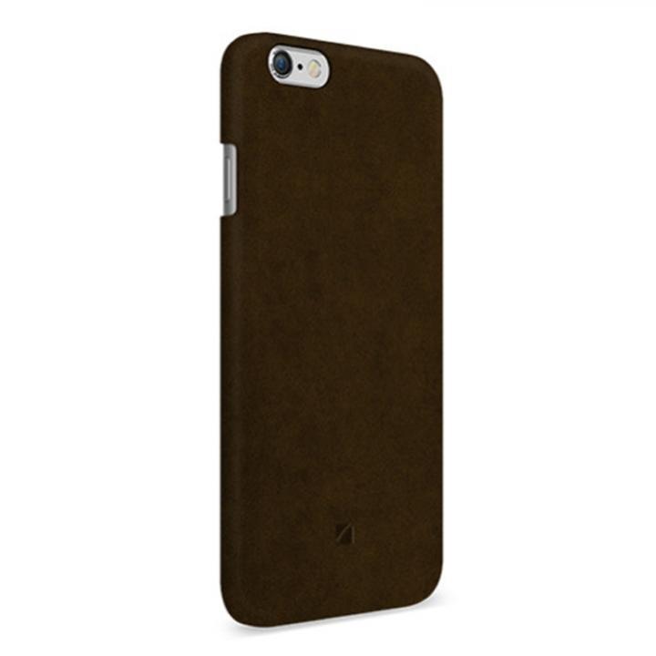 iPhone6 ケース アルカンターラ使用 Moodz Touch ブラウン iPhone 6_0