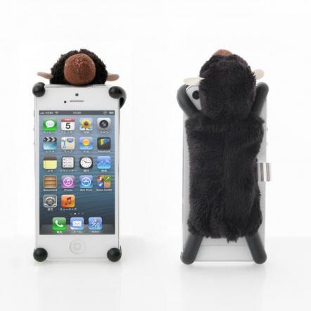 simasima SHEEPY5 iPhone SE/5s/5/5c対応 ブラック