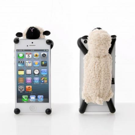 simasima SHEEPY5 iPhone SE/5s/5/5c対応 アイボリー