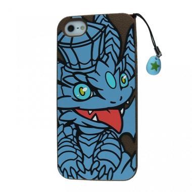 パズドラ キングメタルドラゴンiPhone5s/5ケース (シリコン)