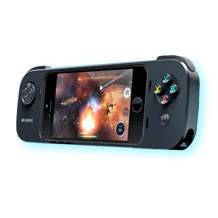 Logicool iPhoneゲームコントローラー G550 パワーシェル コントローラ + バッテリー_0