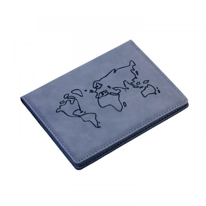 パスポートカバー ウォッチアウト グレイ_0