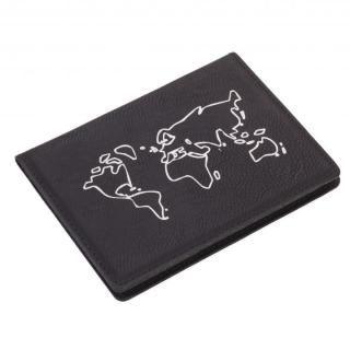 パスポートカバー ウォッチアウト ブラック