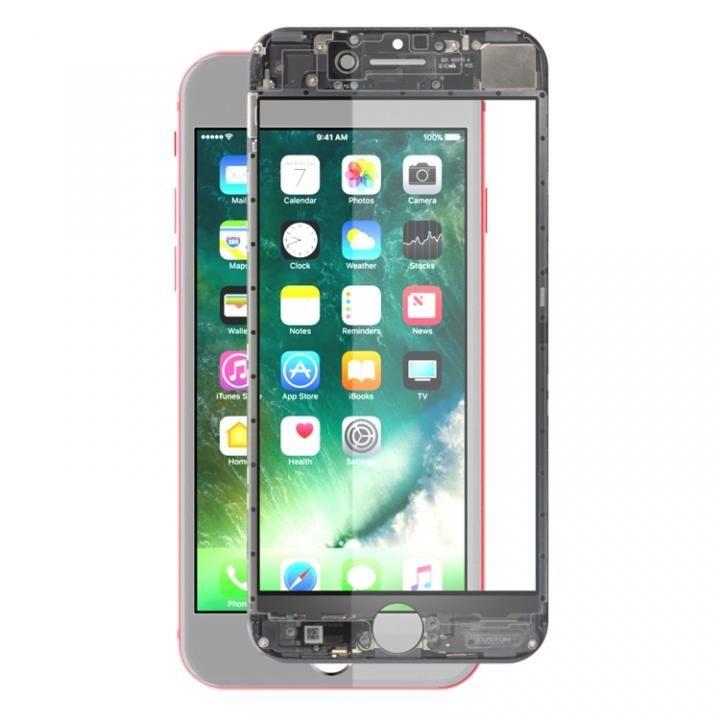 [0.26mm]EUREKA ラウンドエッジ強化ガラス スケルトン iPhone 7