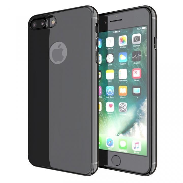薄型 PCケース  Chroma ジェットブラック iPhone 7 Plus