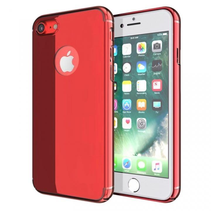 【iPhone7ケース】薄型 PCケース  Chroma レッド iPhone 7_0