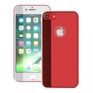 【iPhone7ケース】薄型 PCケース  Chroma レッド iPhone 7_1