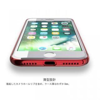 【iPhone7ケース】薄型 PCケース  Chroma レッド iPhone 7_4