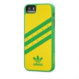 【iPhone SE/5s/5ケース】adidas Originals ケース イエロー/グリーン iPhone SE/5s/5