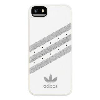 adidas Originals ケース ホワイト/シルバー iPhone SE/5s/5
