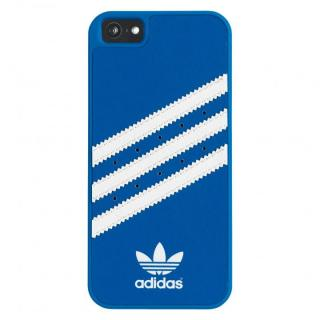 adidas Originals ケース ブルー/ホワイト iPhone SE/5s/5