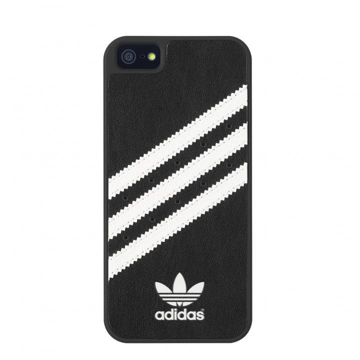 【iPhone SE/5s/5ケース】adidas Originals ケース ブラック/ホワイト iPhone SE/5s/5_0