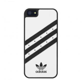 adidas Originals ケース ホワイト/ブラック iPhone SE/5s/5
