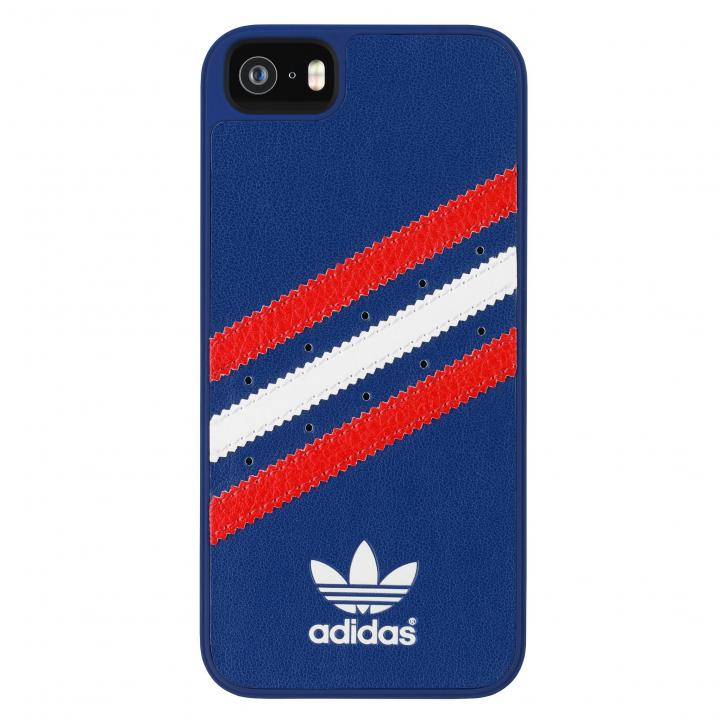 iPhone SE/5s/5 ケース adidas Originals ケース ブルー/レッド/ホワイト iPhone SE/5s/5_0