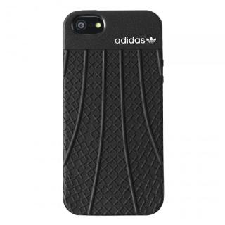 adidas Originals TPU/ラバーケース ブラック iPhone SE/5s/5