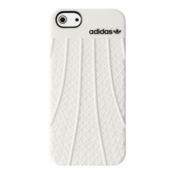 【iPhone SE/5s/5ケース】adidas Originals TPU/ラバーケース ホワイト iPhone SE/5s/5_0